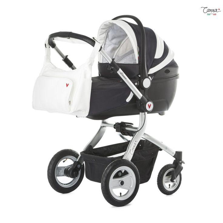 Carra Lusso Anthracite 3İn1 Travel Set Bebek Arabası