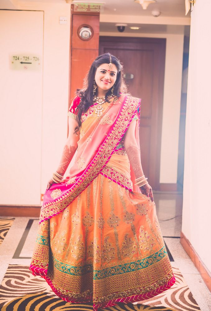 A Grand Delhi 2014 Wedding at the Umrao : Chhavi and Parag - A great alternative to Panetar.  A great wedding outfit.