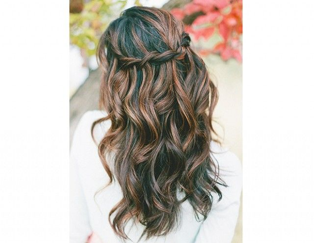 15+Gorgeous+Ways+To+Wear+Your+Hair+Down+For+Your+Wedding+via+@byrdiebeauty