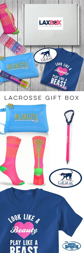 Want to save on some of our awesome lacrosse gifts? Check out our LAXBOX, filled with some of our favorite hand-picked gifts exclusive to LuLaLax! Take a look at all of our options for some of our favorite lax gift combination ideas!