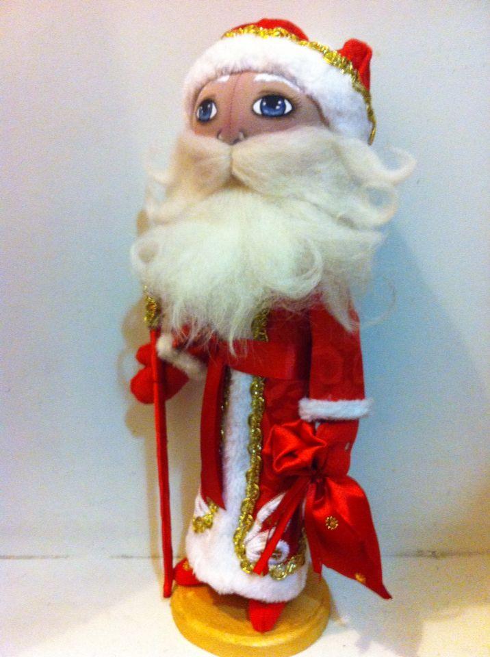 Дед Мороз, красный нос!