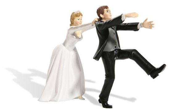 Many men and women tell their biggest lie on their wedding day. He (or she) stands before a minister, family, and friends to commit his life to a partner. He sa