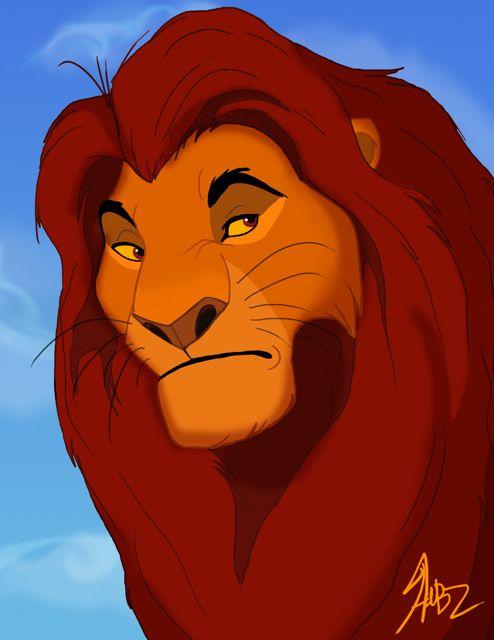 Lion king characters mufasa