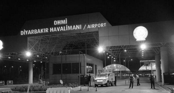 Diyarbakır'da askeri uçak düştü