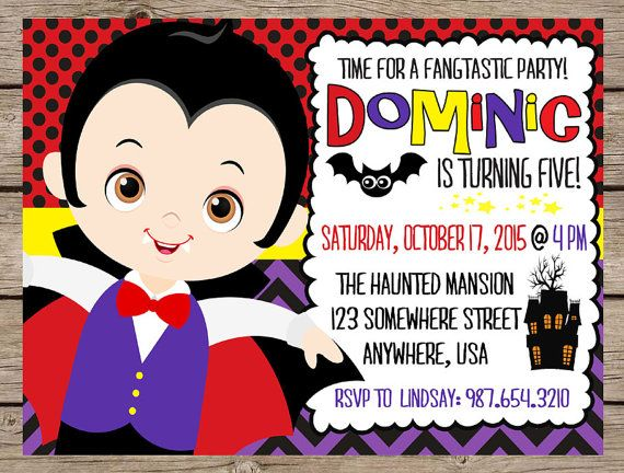 Best 20 Halloween Birthday Invitations ideas – Costume Party Invitations Free Printable