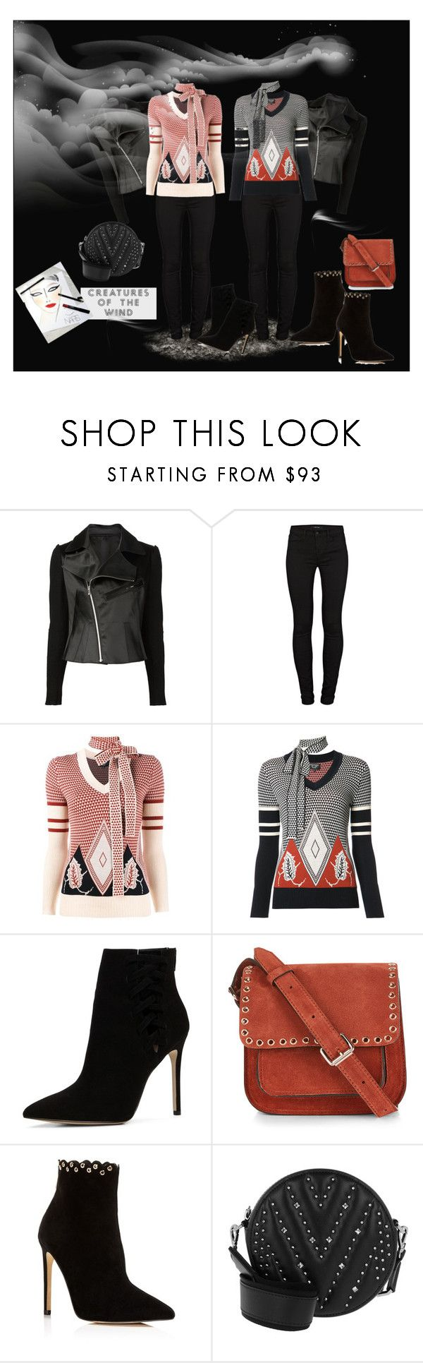 """Double-Pack"" by catsanddogs-563 ❤ liked on Polyvore featuring Creatures of the Wind, J Brand, ALDO, Étoile Isabel Marant, Raye, MCM, jacket, jumper and creaturesofthewind"