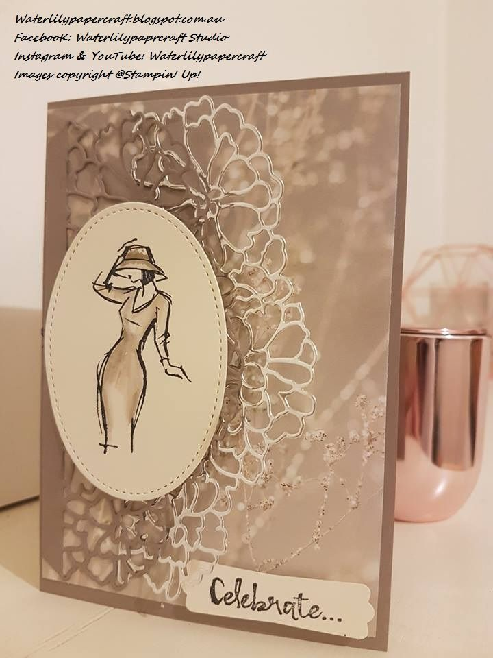 Oh my!   The new products coming in January are just beautiful.  Not only is this Stamp Set the most gorgeous set I have ever used, the ...