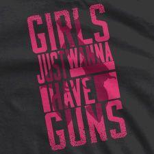 GUN T-SHIRTS FOR WOMEN | GIRLS WEAR GUNS - mens patterned button down shirts, offensive shirts, dark red mens shirt *sponsored https://www.pinterest.com/shirts_shirt/ https://www.pinterest.com/explore/shirts/ https://www.pinterest.com/shirts_shirt/design-shirts/ http://www.theory.com/mens-shirts/