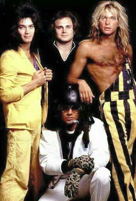 Van Halen, Alex looks like Bootsy Collins here!!