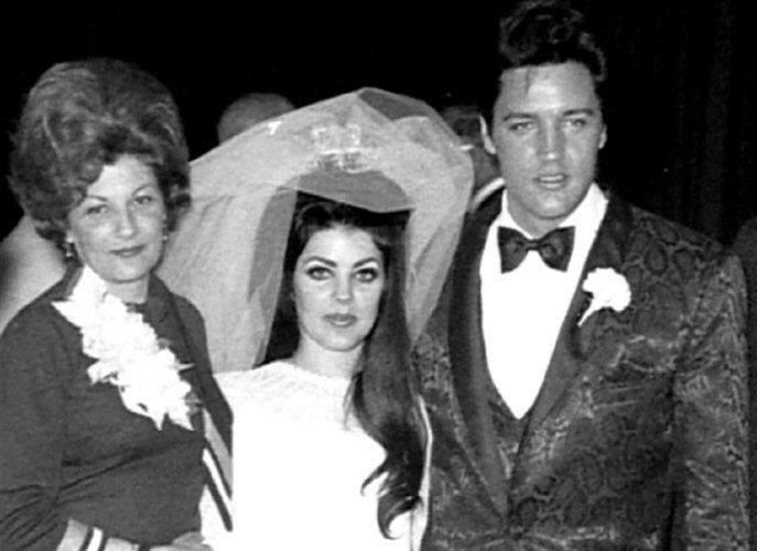 Elvis, Priscilla and Her Mother