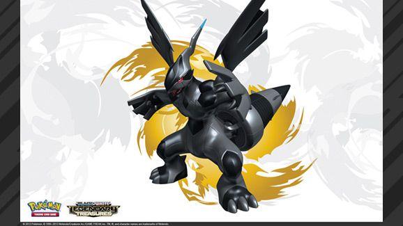 Pokémon TCG: Black & White—Legendary Treasures Zekrom Wallpaper