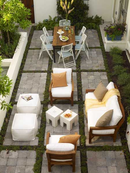 Really cool patio look