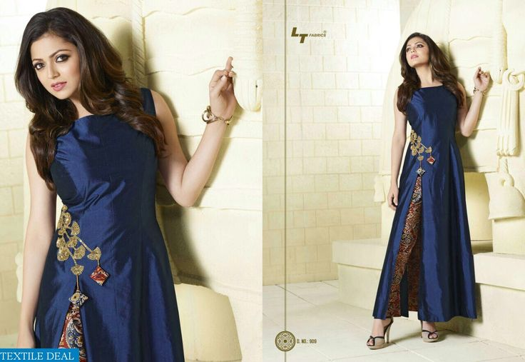 Shop now LT Fabrics exclusive Nitya Kurtis Quality Ready Wear Catalogs at Wholesale Rate only from @Textiledeals