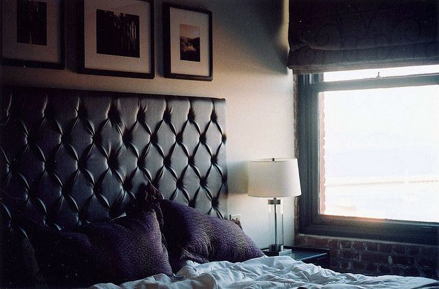 139 best images about masculine bedrooms on pinterest for Masculine headboards