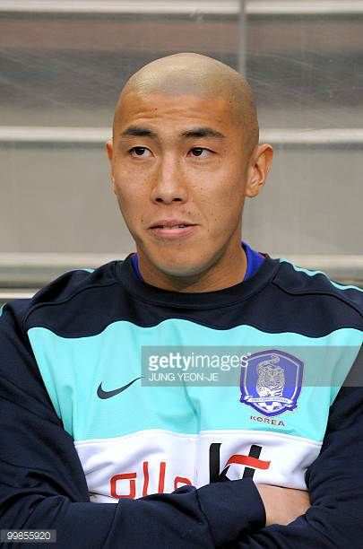 South Korean national football team defender Cha DuRi during a friendly football match with Ecuador in Seoul on May 16 2010 ahead the FIFA World Cup...