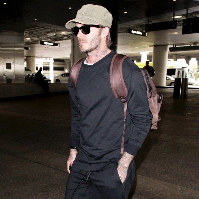 David Beckham's Excellent Airport Style Doesn't Require a Footballer's Salary | GQ