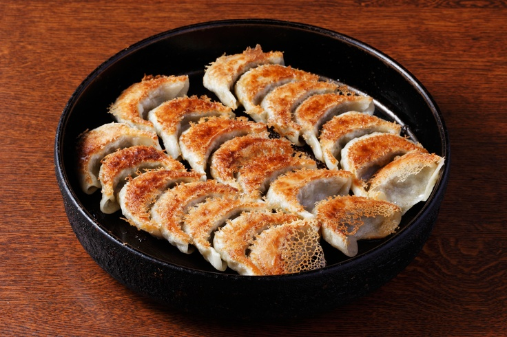 Download Photo - Pan fried gyoza (dumplings) - FUKUOKA SHOWCASE