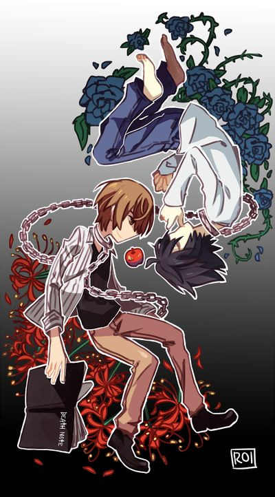 Death Note. I don't know who did this but thank you. I realize I need this when I see it.