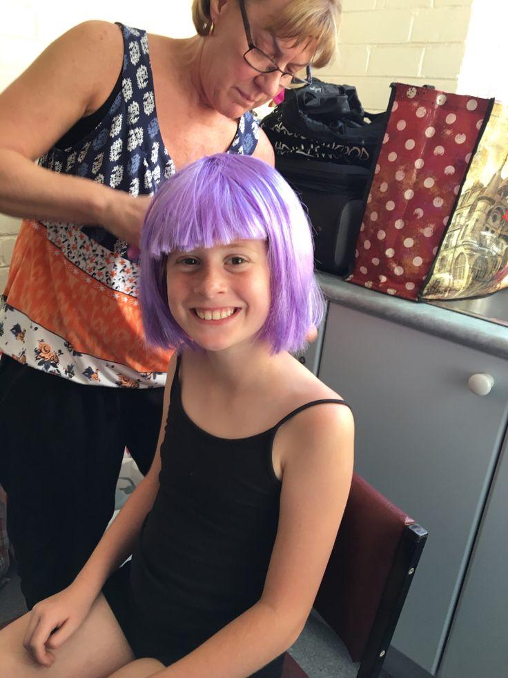 Me with my purple hair