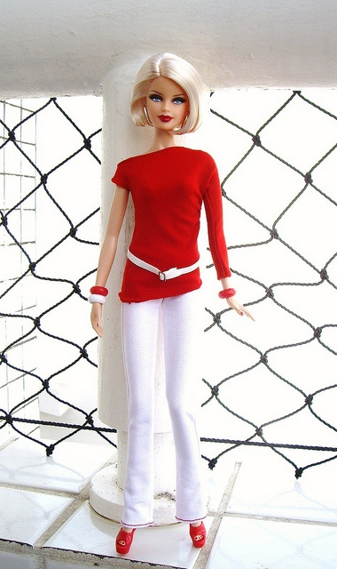 Barbie Basics - Red Collection by S2Dolls, via Flickr
