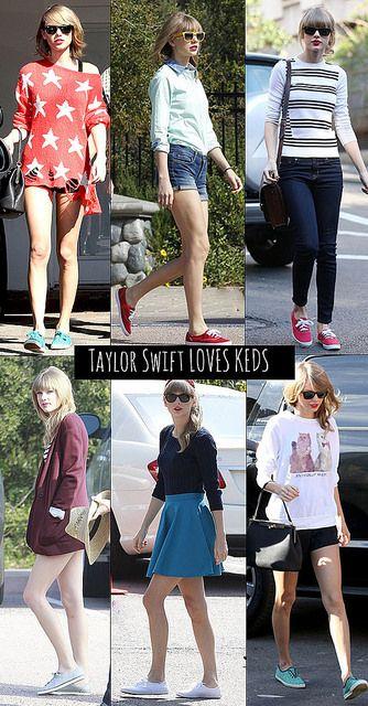 TAYLOR SWIFT KEDS STYLE by lauraperuchimezari, via Flickr