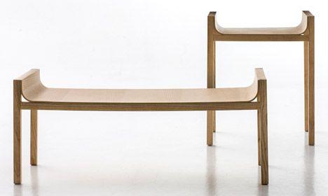 Prop side and coffee tables, Moroso. Benjamin Hubert.