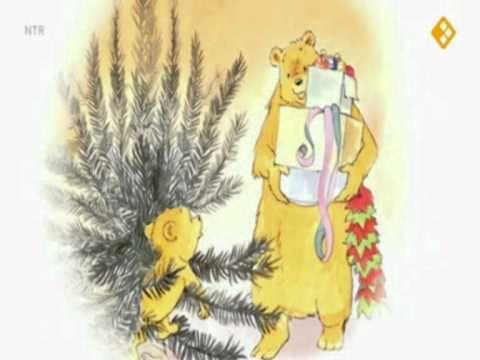 Digitaal prentenboek: het zandkasteel boek kleine beer viert kerstfeest