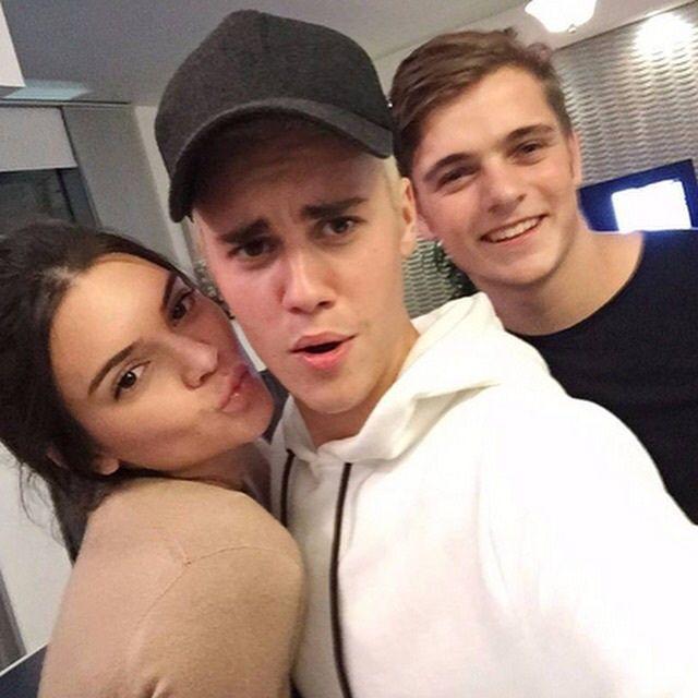 Kendall Jenner, Justin Bieber, Martin Garrix