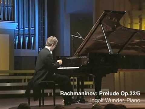 Ingolf Wunder (Vilnius 2008) - Rachmaninov, Prelude Op. 32 No. 5