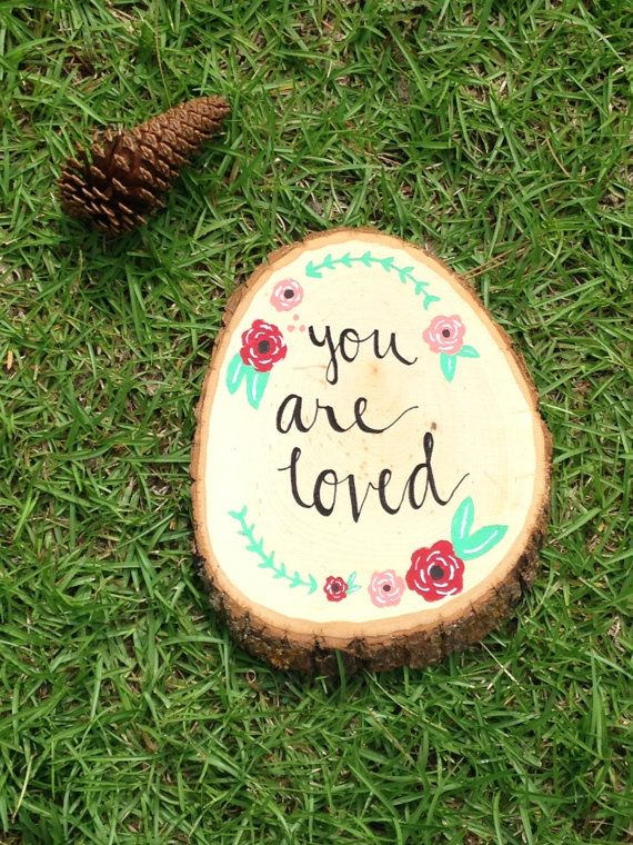 Best 25 painting quotes ideas on pinterest painted for Wood circles for crafts