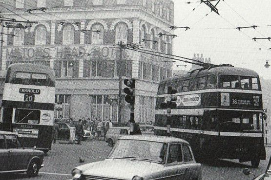 In pictures: Nottingham's trolleybus era