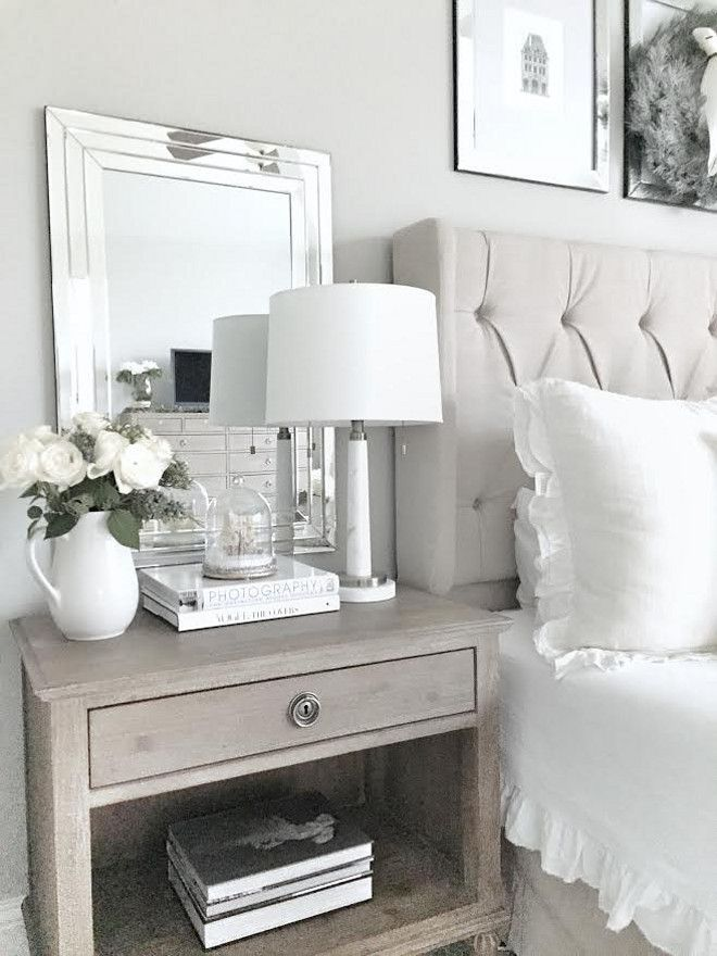 Best 25 Mirror Behind Nightstand Ideas On Pinterest Bedroom Lamps Nz Bedside Lamps Nz And
