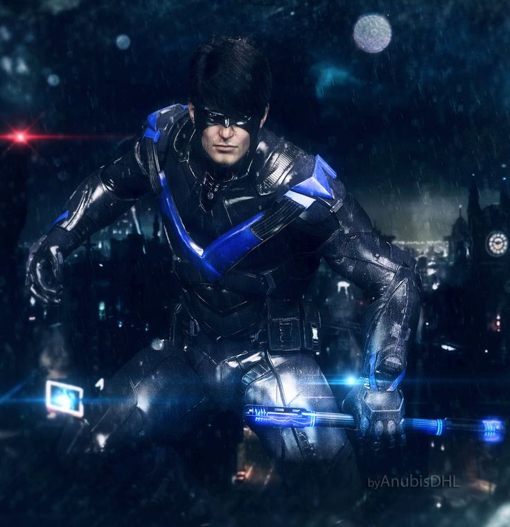Nightwing Arkham Knight by AnubisDHL