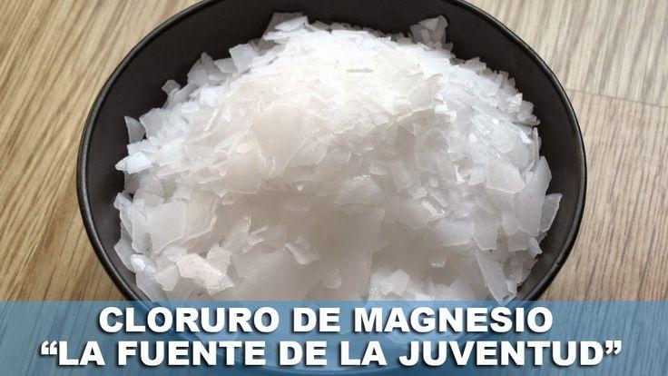 """TU SALUD Y BIENESTAR : Agua de cloruro de magnesio """"LA FUENTE DE LA JUVENTUD"""" pierde 10 años en 7 días"""