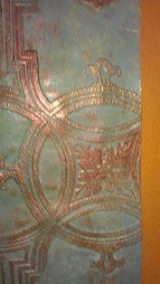 Image result for painting technique for anaglypta wallpaper