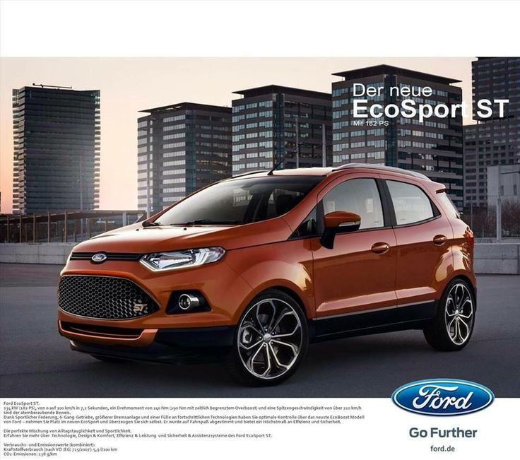The New Ford EcoSport ST