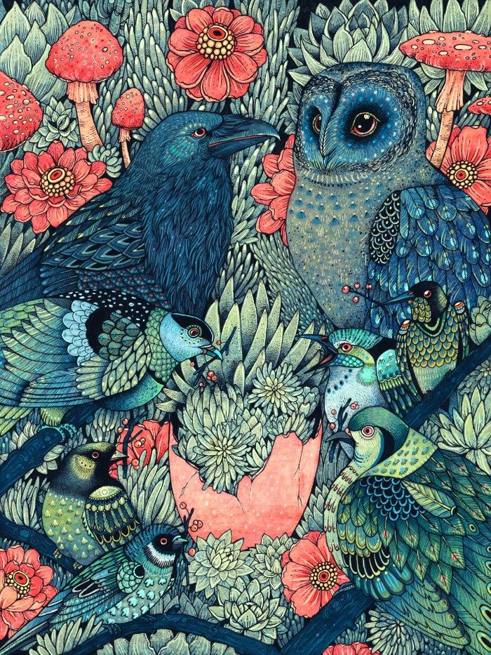 Psychedelic Owl  https://trippy.me   #Trippy #Psychedelic