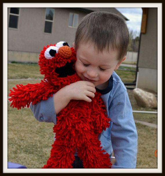 Hey, I found this really awesome Etsy listing at https://www.etsy.com/listing/119978896/baby-elmo-doll-crochet-pattern