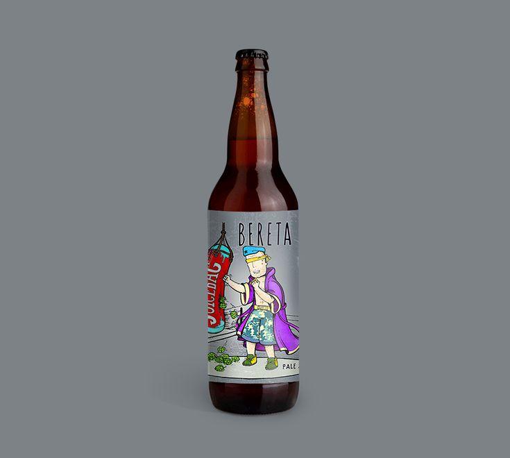 Dushky . on Behance  label design by #dushky | #art #illustration #drawing #label #design #bereta #beretatm #aipiiei #craft #beer #logo