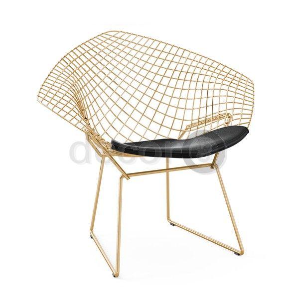 Decor8 Modern Furniture and Home Decor - Living Room Furniture - Lobby Furniture - Waiting Area Furniture - Harry Bertoia Style Lounge Diamond Chair