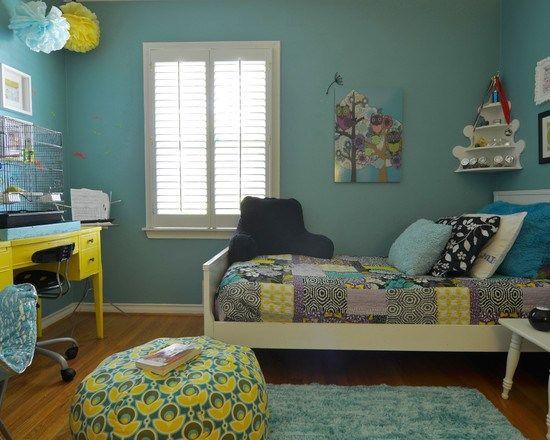 子供部屋 Dallas, TX: Ryan and Erin McLaughlin 女の子の部屋 - ベッドルーム 都市住宅 インテリア実例