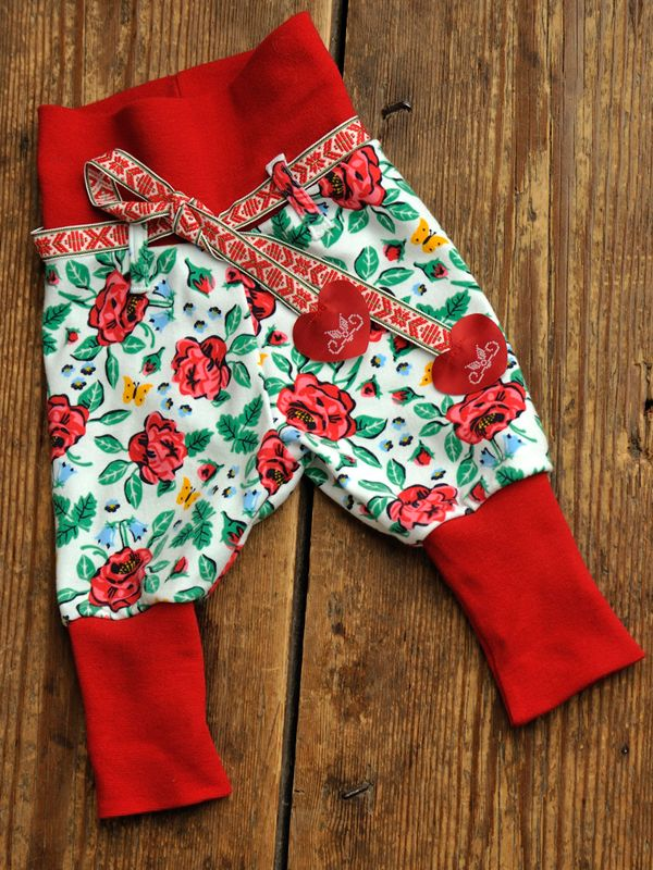 Swedish folklore toddlers soft pants