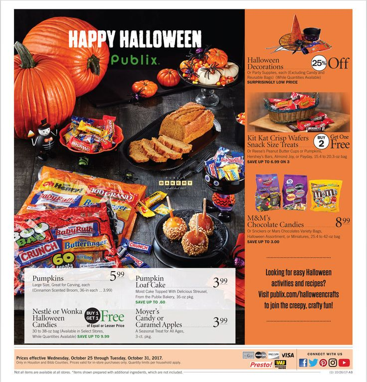 View Latest Publix Weekly ad October 25 – 31, 2017 Flyers Here. Browse Weekly BOGOs (Buy Ones Get Ones), Extra Savings, Digital Coupons, Printable Coupons, Coupon Savings Helper, Publix Brands on Sale and the latest promotions from Publix. Here are Publix Deals this week 10/25/2017 –...