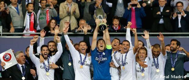 2-0 : EURO Super Cup Champions ( Real Madrid vs Sevilla)