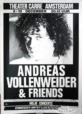 ANDREAS VOLLENWEIDER 1987 AMSTERDAM
