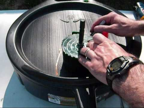 video for making a small, solar bubbling water feature.  Wonder if this can be applied to a bigger fountain.