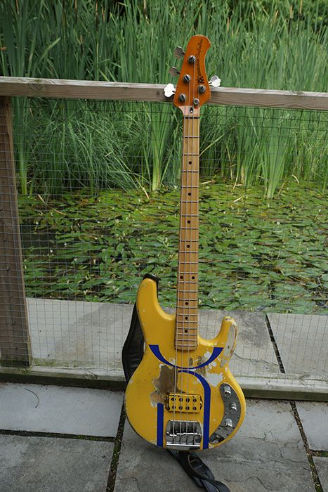 "Tony Levin's ""Three of a Perfect Pair"" Music Man 80's Bass"