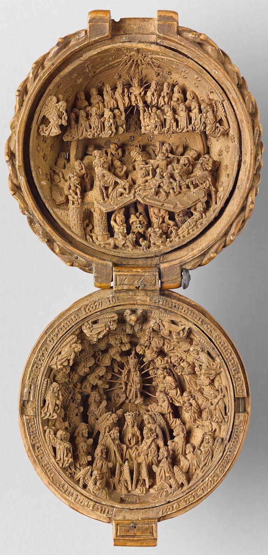 16-го века готический самшита миниатюры художественная галерея Онтарио маленьких чудес