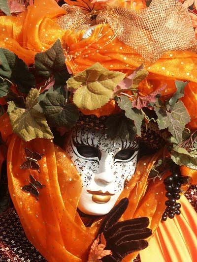 Masque de Venise - Automne