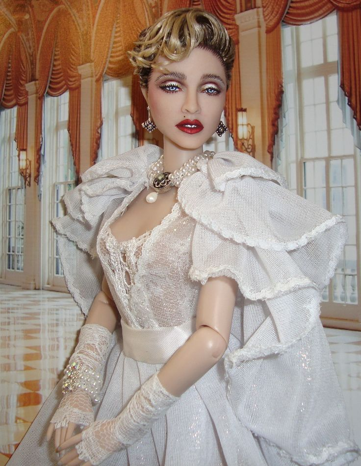 Madonna like a virgin music video bride doll by cyguy dolls madonna fandeluxe Epub